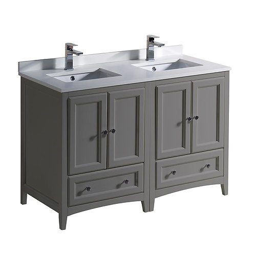 "Double Vanity 48"" Option 2"