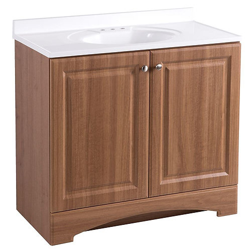 "Single Vanity 36"" Option 5"