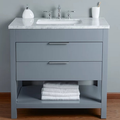 Bathroom Single Vanity Option 6