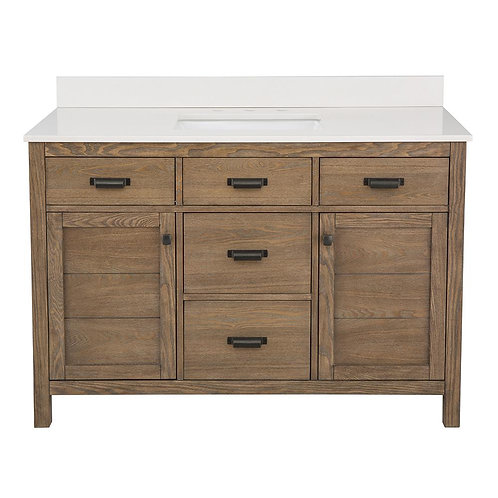 "Single Vanity 48"" Option 2"