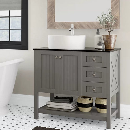 Bathroom Single Vanity Option 3