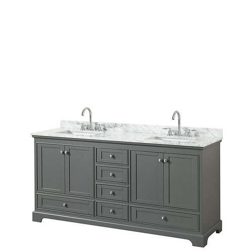 "Double Vanity 70"" Option 5"