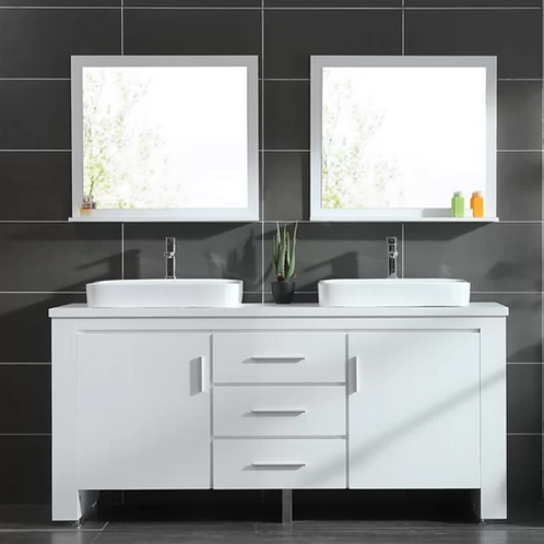 Bathroom Double Vanity Option 6