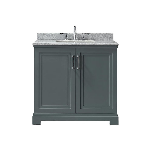 "Single Vanity 36"" Option 6"