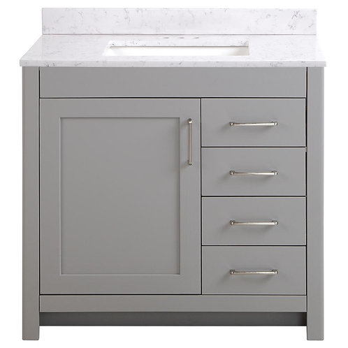 "Single Vanity 36"" Option 7"
