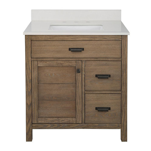 "Single Vanity 30"" Option 2"