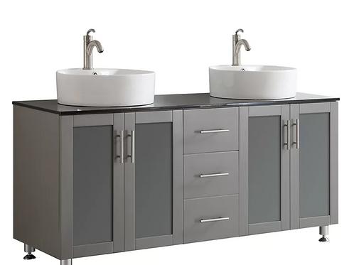 Bathroom Double Vanity Option 7