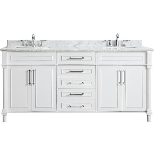 "Double Vanity 70"" Option 3"