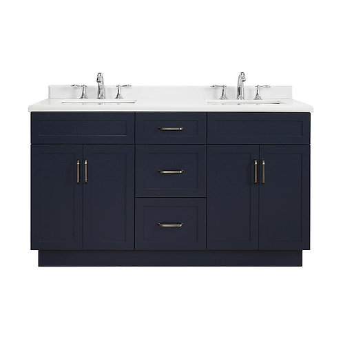 "Double Vanity 60"" Option 3"