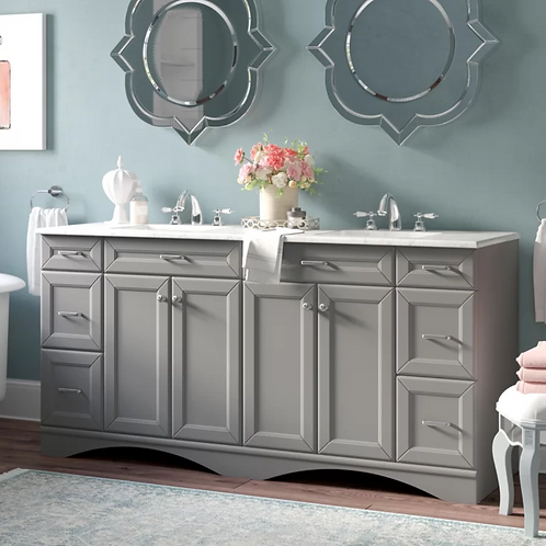 Bathroom Double Vanity Option 4