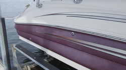 sea ray 2 before buffing