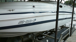 after buffing chris craft
