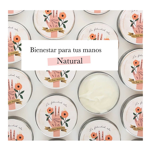 Crema nutritiva y reparadora para manos