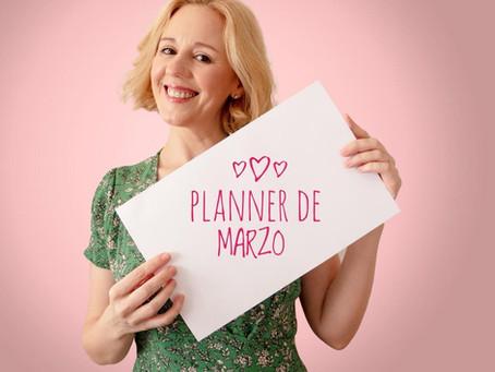 Recibí el link para bajar tu Planner Imprimible Gratuito del mes de Marzo