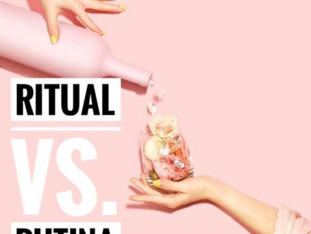 Ritual vs. Rutina