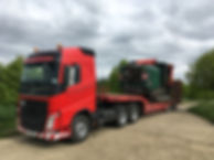 Volvo low loader.JPG