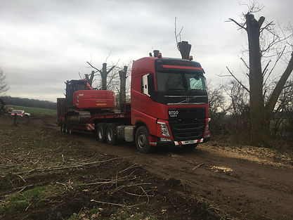 Shear and low loader