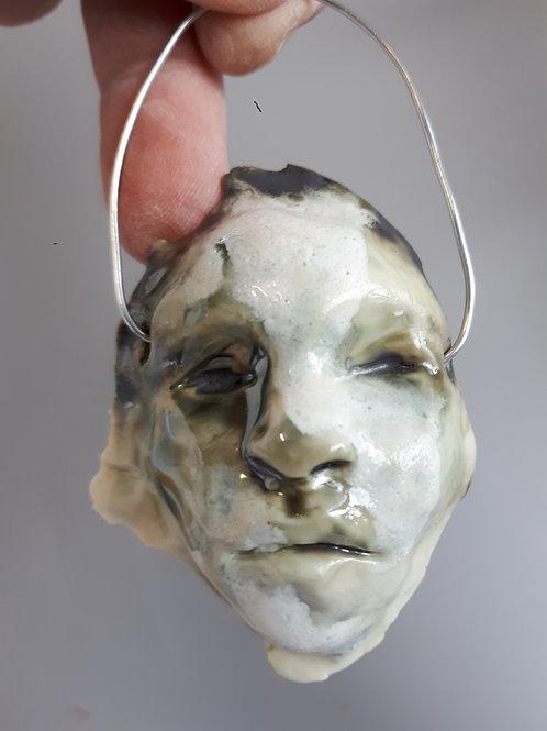 Forest face ( porcelain ) #7