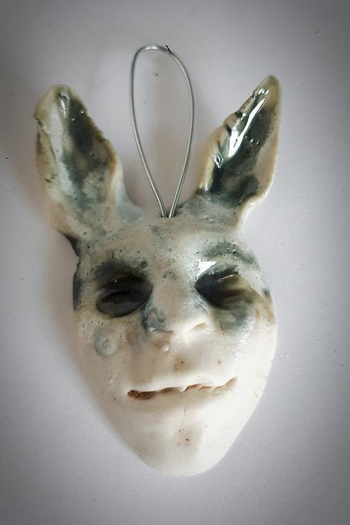 Forest faun face ( porcelain ) #4