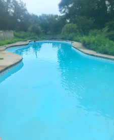 Large Tallahassee FL pools and unique sizes may need resurfacing