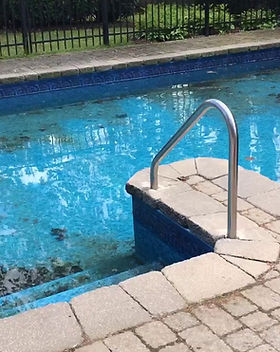 Resurfacing and scrubbing cleaning tallahassee pools and remove debris