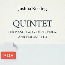 Piano Quintet (digital file)