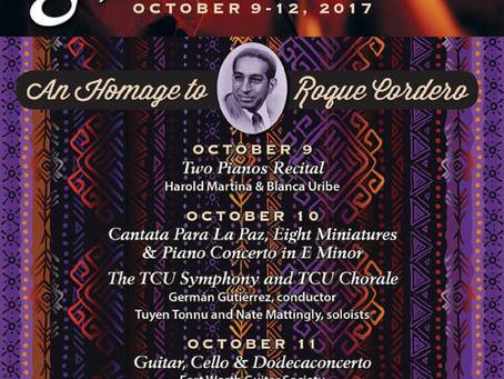 Engraving: Cordero's Piano Concerto @ TCU