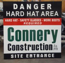 Jobsite Safety Sign