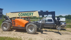 Construction Equipment Lettering