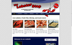 Web Design | The Lobster Stop