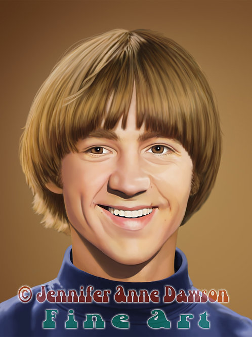 Peter Tork 8x10 Original Art (Print)