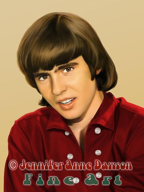 Davy Jones 8x10 Original Art (Print)