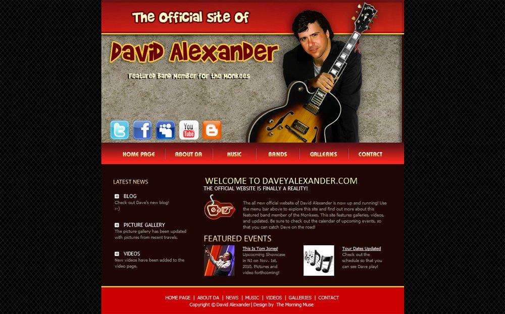 Web Design | David Alexander