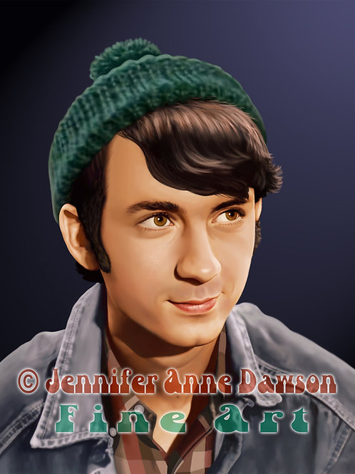Michael Nesmith 8x10 Original Art (Print)