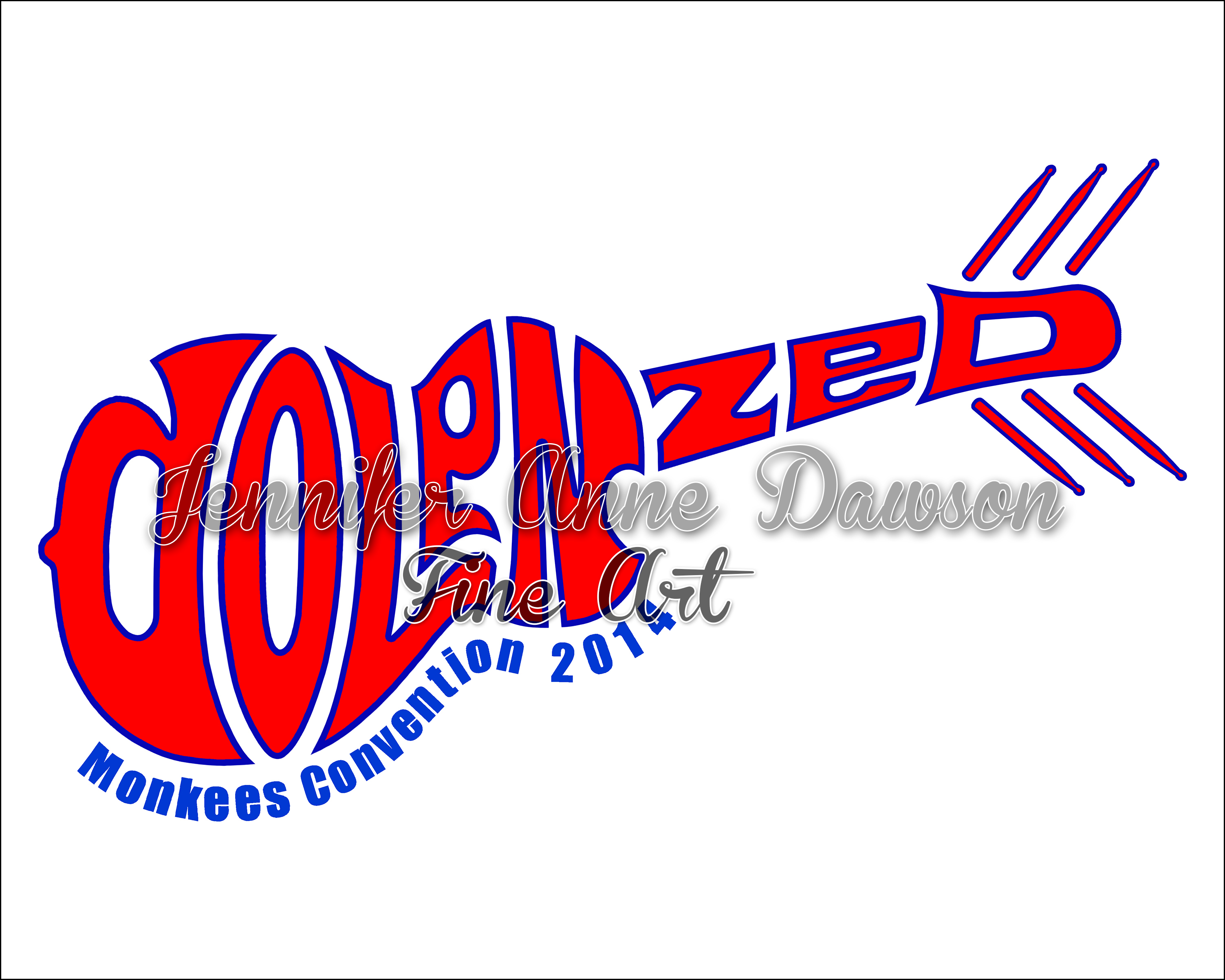 Hand Drawn Logo | Dolenzed (Closeup)