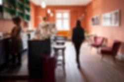 Café kontorfællesskab Nomad Workspace