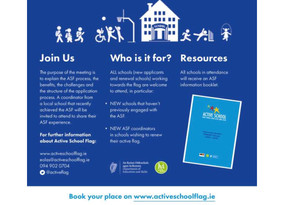 Aistear and ASF Courses 4th Oct