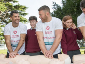 Irish Heart Foundation CPR4 Schools Workshop