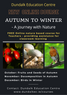 Autumn to Winter - a journey with nature