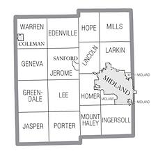 Midland County Mi map.png