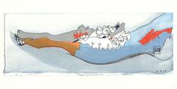 martha ebner caribou jaw drawing