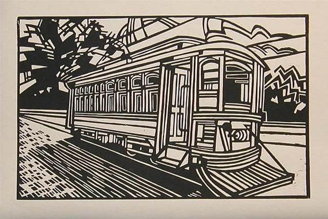 print_benjaminspencer_evening_trolley