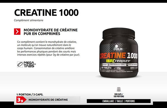 CREAPURE CREATINE 1000 OLIMP  300 CAPS.J