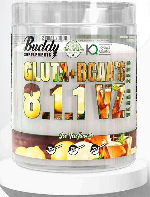 GLUTA + BCAA 8:1:1  BUDDY SUPP 500 Gr