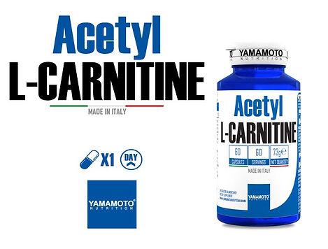 ACETYL L CARNITINE 60 CAPS YAMAMOTO.JPG