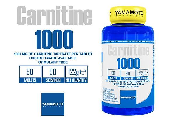 CARNITINE 1000 90 caps YAMAMOTO.JPG