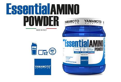 ESSENTIAL AMINO POWDER 200 GR YAMAMOTO F