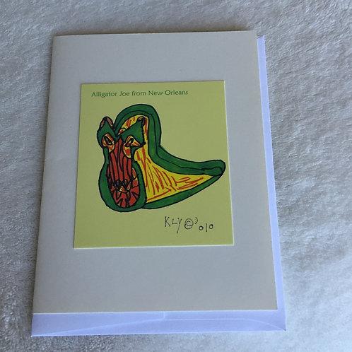 Alligator Joe from New Orleans