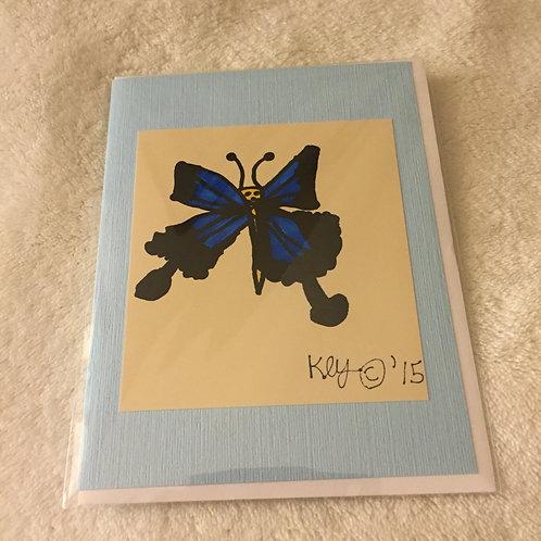 Blue Bell Butterfly