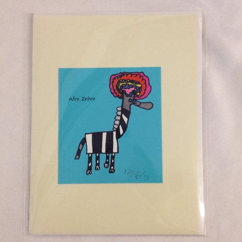 Afro Zebra